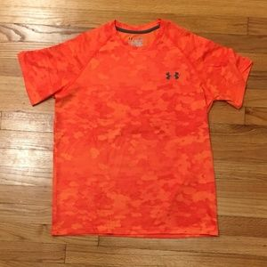 🔥 UNDER ARMOUR HEAT GEAR MEN'S SM fits  YOUTH XL
